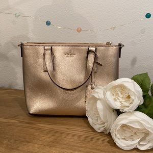Kate Spade Rose Gold Cameron Street Lucie Bag